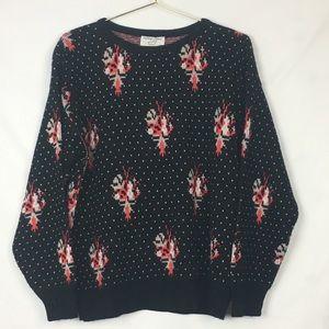 Vintage 90s Oversized Slouchy Knit Sweater Size M
